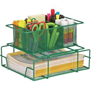 Wire Works Group Materials Caddy Owl Room Shop Organization Organization