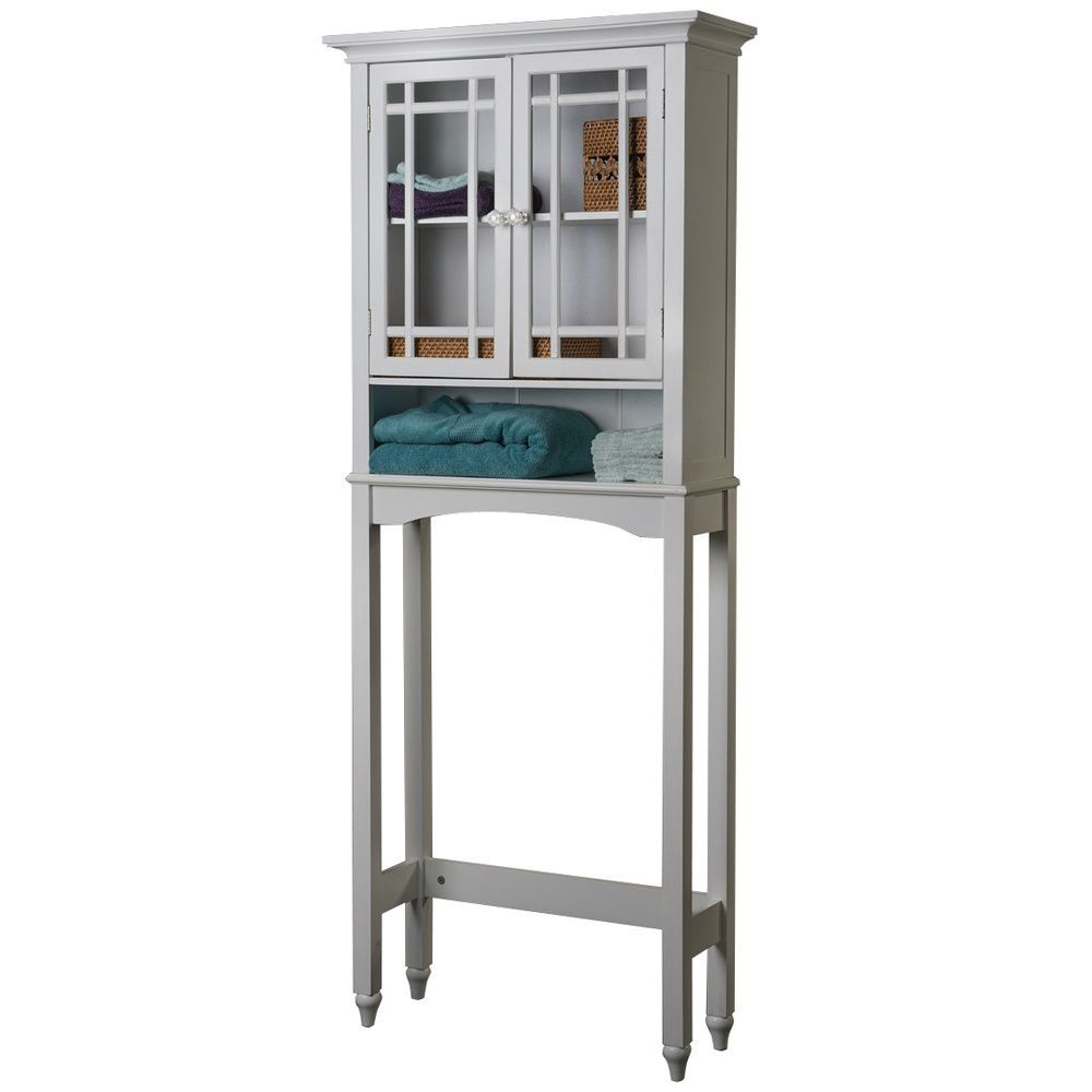 Organize your home with this white space saver cabinet. | Bathroom ...