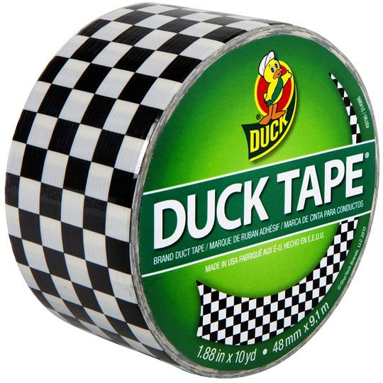Checkered Project Tape