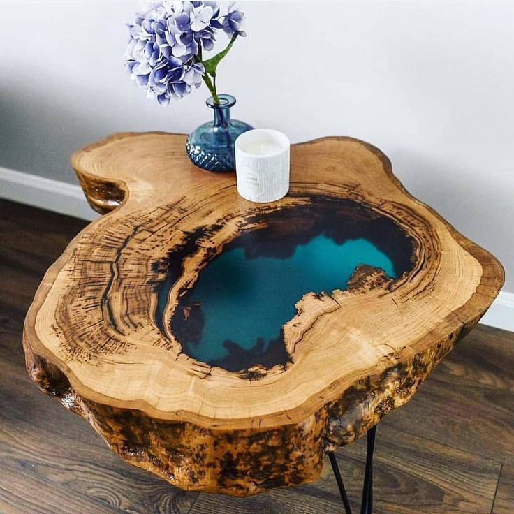 """Photo of DIY/ EPOXY/ WOOD on Instagram: """"😀Very natural look to this one and simply b…"""