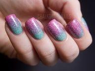 Photo of Springtime pink and green gradient