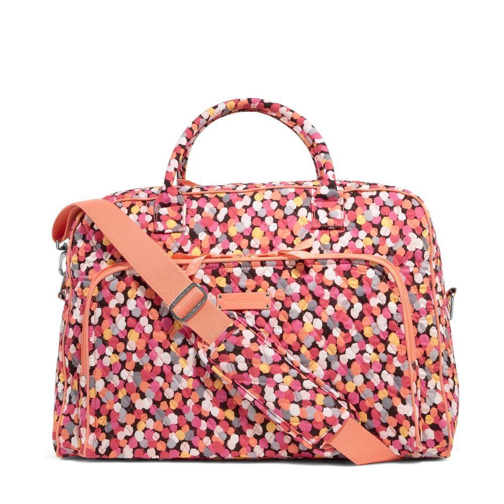 Details About Vera Bradley Weekender Bag Bags In 2019