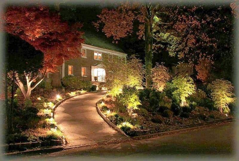 Love What You See Longer With Lighting Landscape Lighting Design Backyard Landscaping Outdoor Lighting Design