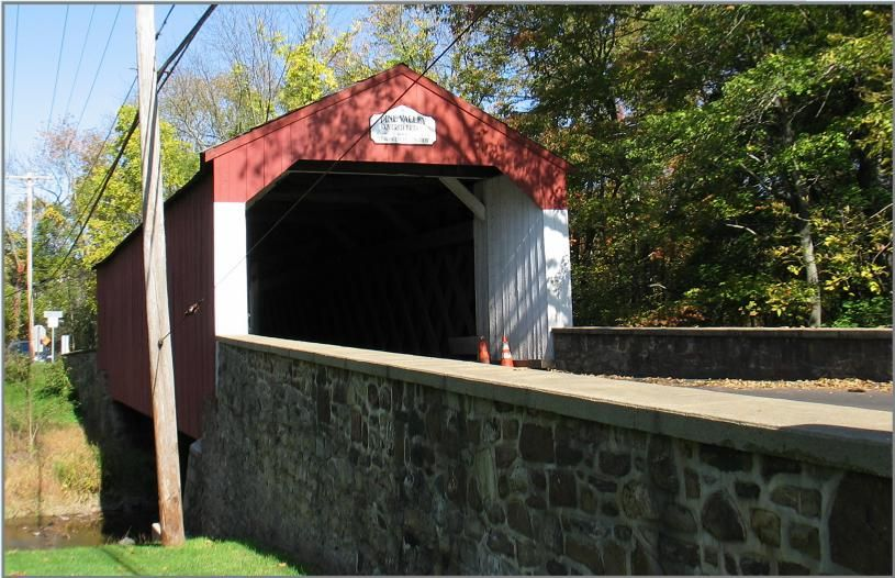 Pine Valley Covered Bridge | Covered bridges, Pine valley ...