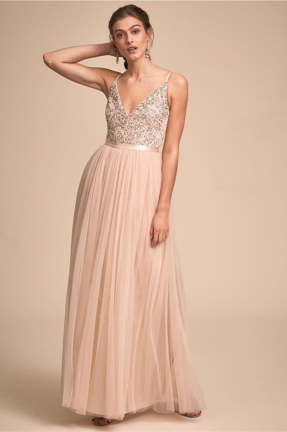 Edding Elegantly Chic Bhldn Bridesmaids Dresses | Stratadime