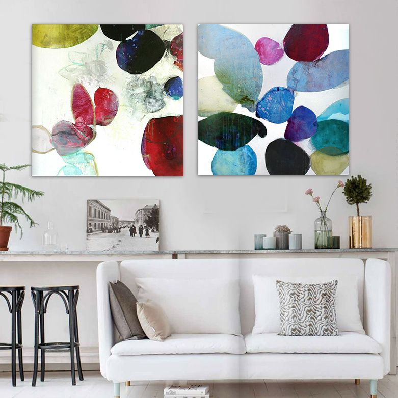 Find More Painting & Calligraphy Information about Modern abstract watercolor hand painted oil painting living room bedroom office gemstone color canvas wall art,High Quality art canvas,China canvas art cheap Suppliers, Cheap canvas art frame from WHAT ART on Aliexpress.com