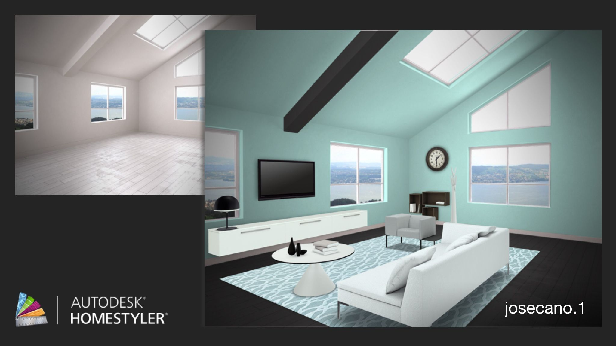 "Check out my #interiordesign ""Apartment Living Room"" from #Homestyler http://autode.sk/1a02SoQ"