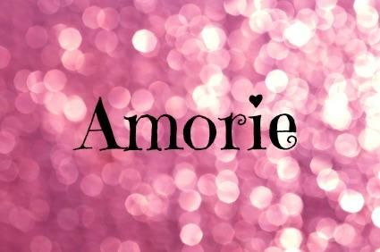 Amorie is on Nameberry's list of 100 cool and unusual girls' names