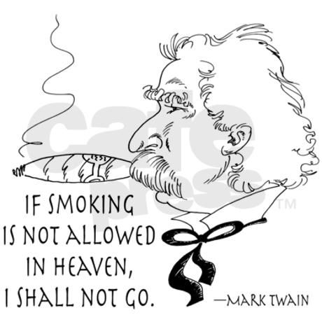 Cigar Smoker Mark Twain Quote Stein | Smokers, Quotes and Mark ...