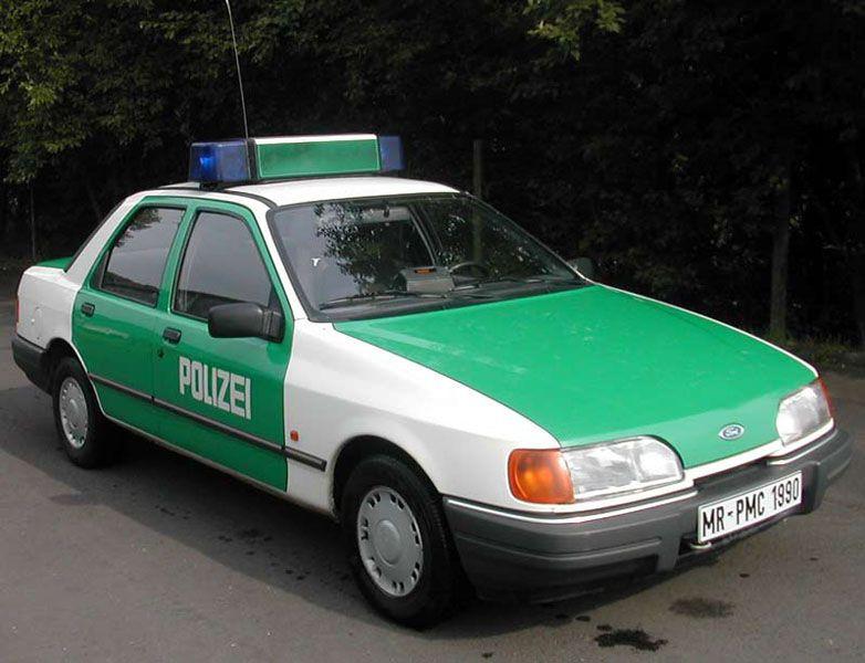 OG |Ford Sierra Mk2 | #Polizei
