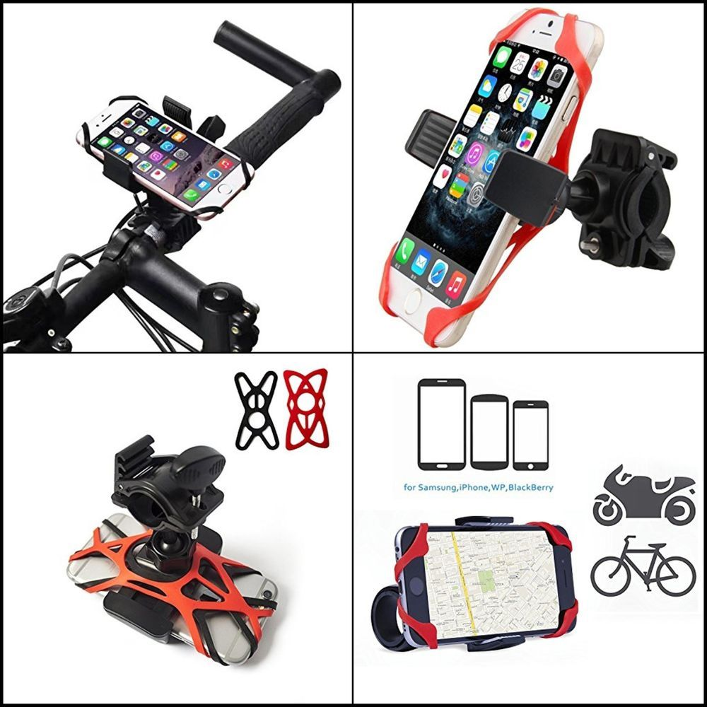 Motorcycle Bike Universal Cell Phone Mount Holder Handlebars Sony Ericsson Z800 Schematic Diagram Adjustable New Wffdirect