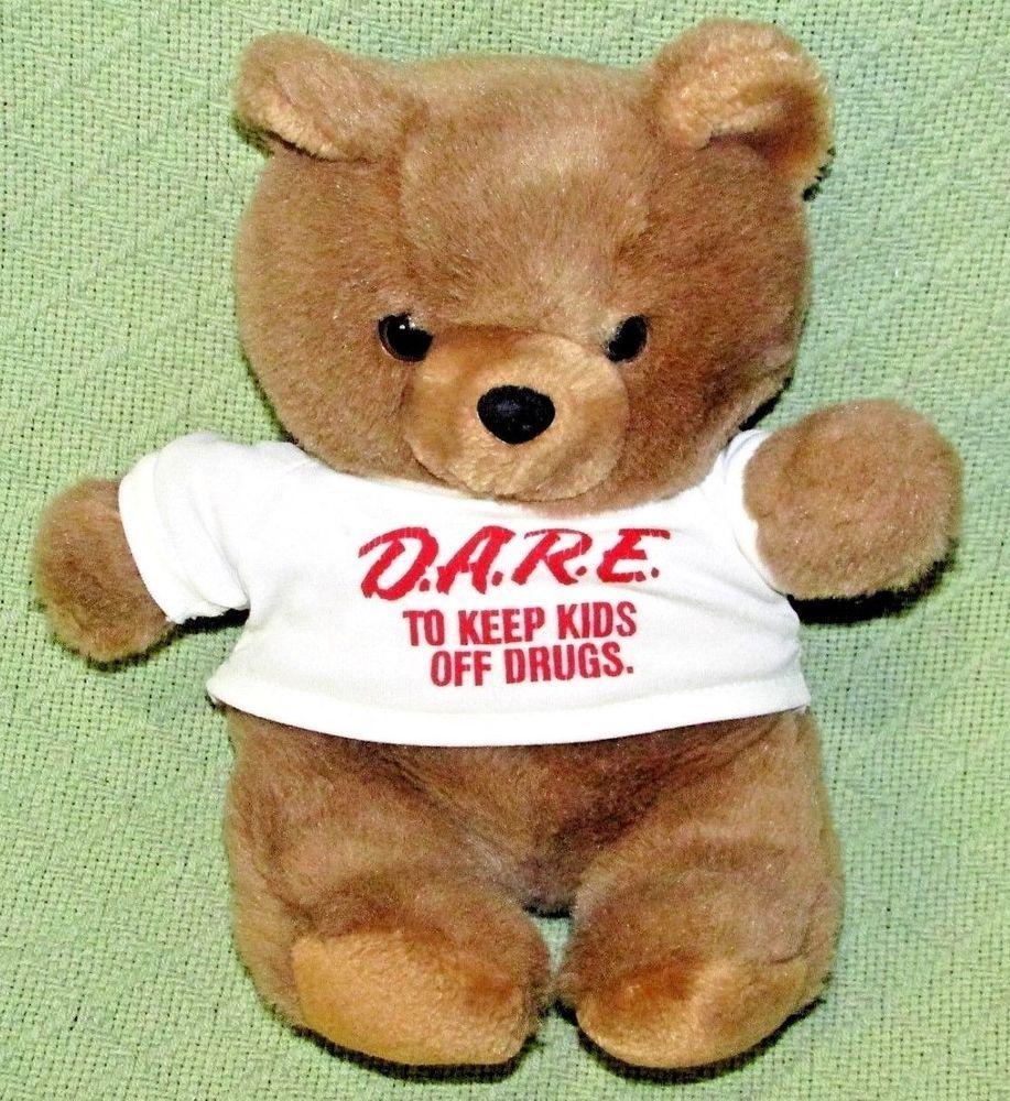 7d19954568c Vintage D.A.R.E. TEDDY BEAR 10