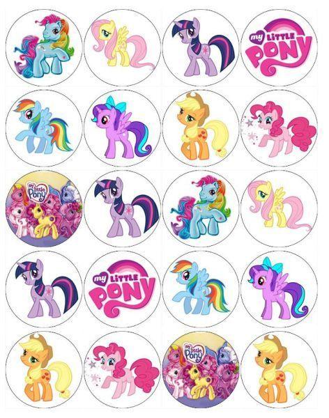 Imprimibles de My little Pony gratis | Pinterest | Cumple ...
