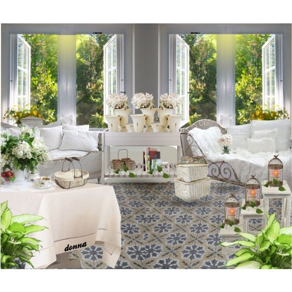SUNROOM #2 by green-crafts on Polyvore featuring interior, interiors