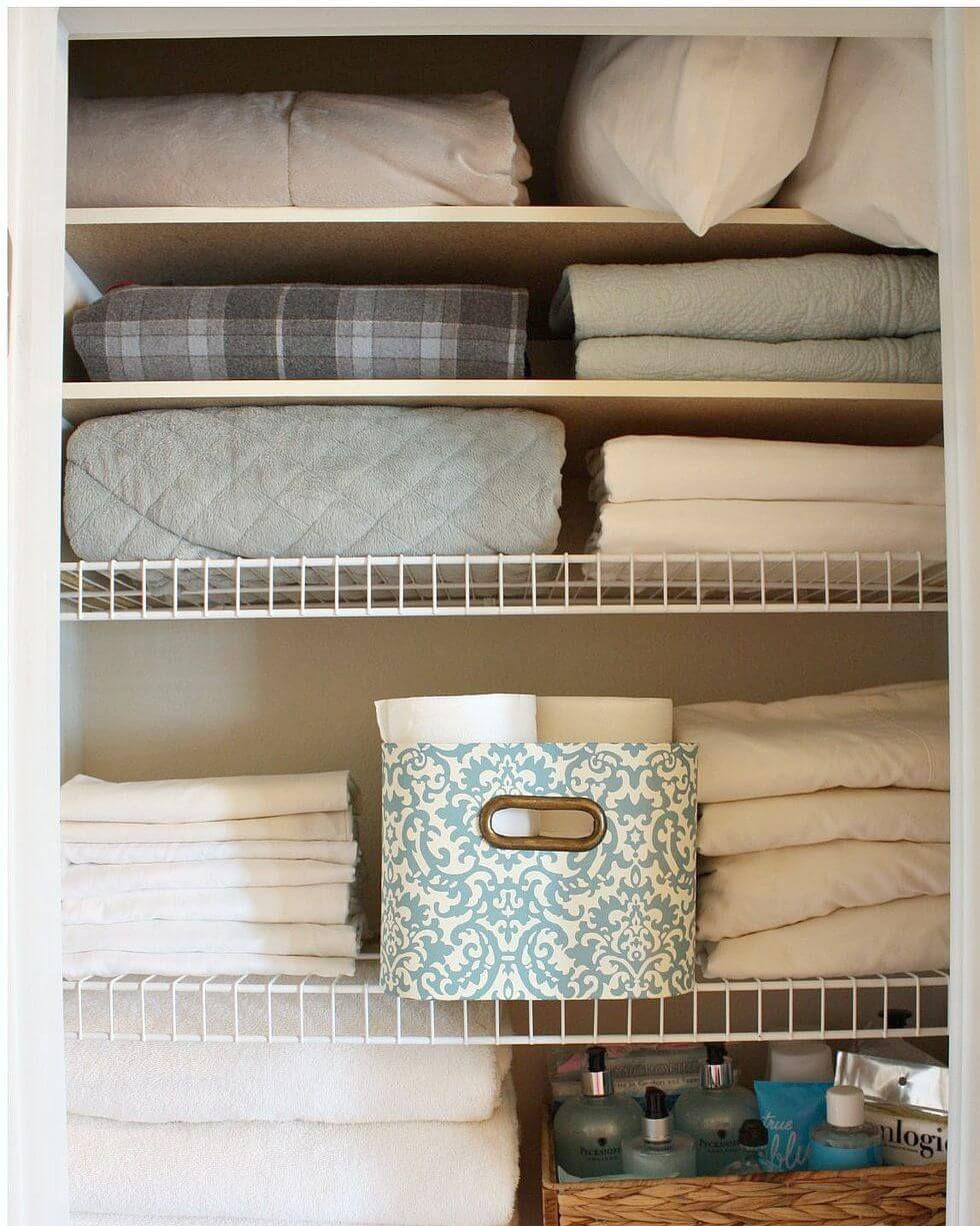 Super Creative Linen Closets Organization   Linen closet ...