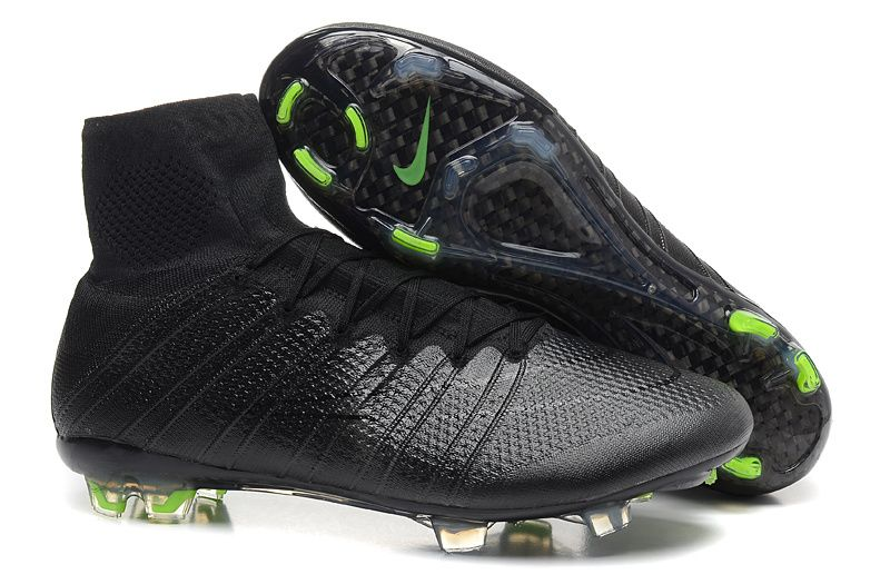 Buy 2016 Nike Mercurial Superfly IV High Tops FG Cleats 2015 - Black  Blackout Black Online from Reliable 2016 Nike Mercurial Superfly IV High  Tops FG Cleats ...