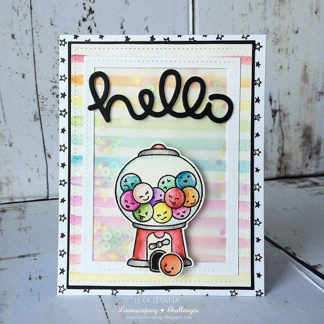 Fawny Flickr Wednesday! (the Lawn Fawn blog) is part of lawn Fawn Ice Cream - Today we have a special Wednesday installment of Fawny Flickr for you! Tomorrow is the start of another Inspiration Week with awesome projects by the Design Team, Intro Videos and Giveaways! Be sure t