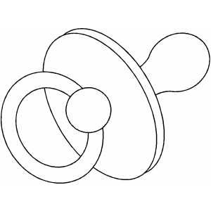 Pacifier Coloring Sheet Quilting Templates Pattern Coloring Pages Coloring Pages