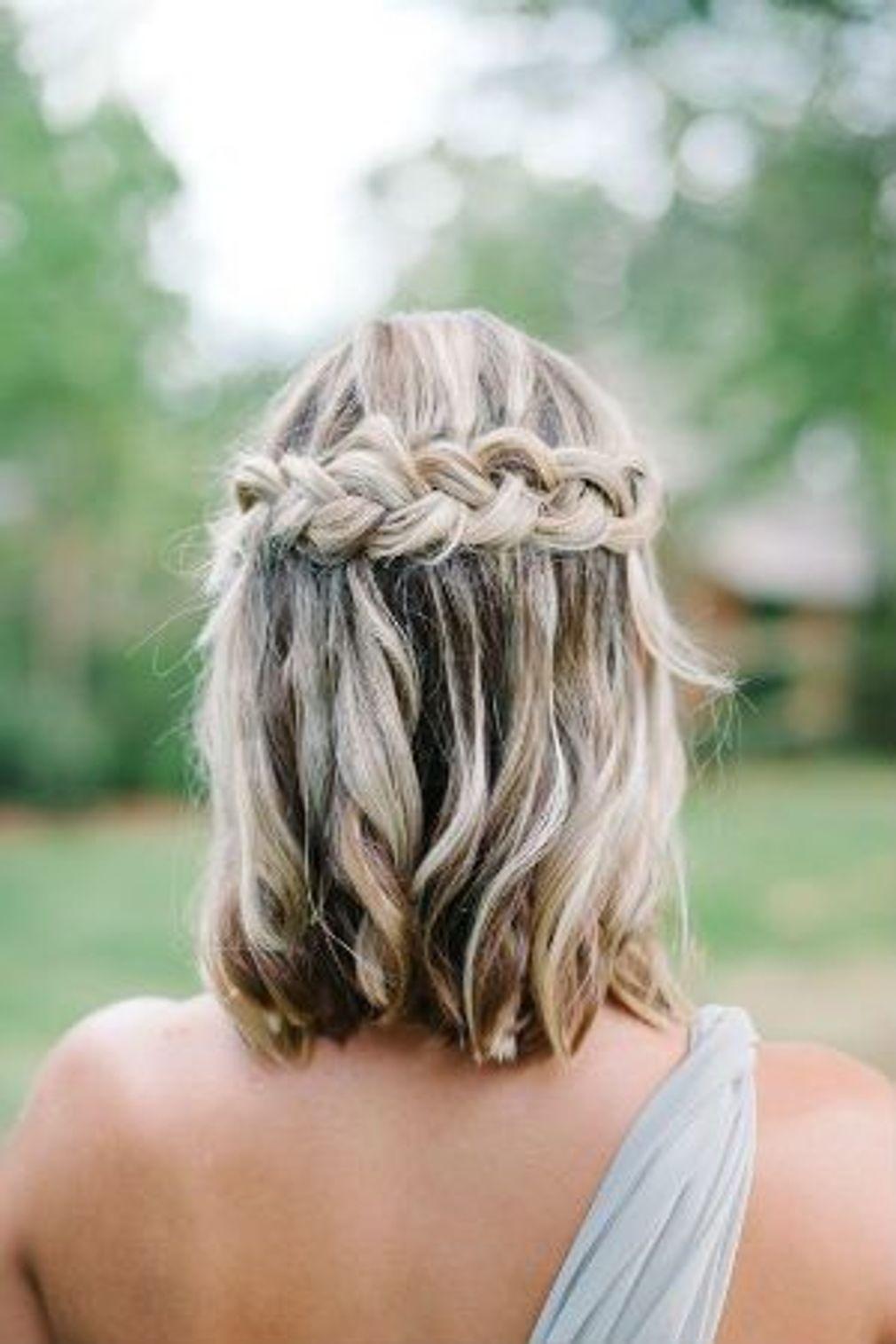 39++ Coiffure mariage boheme cheveux mi long des idees