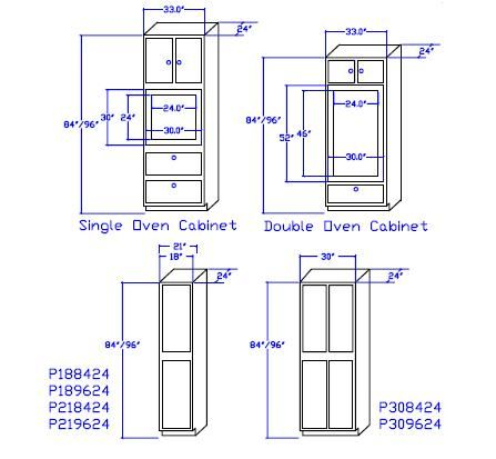 standard cabinet sizes - Google Search