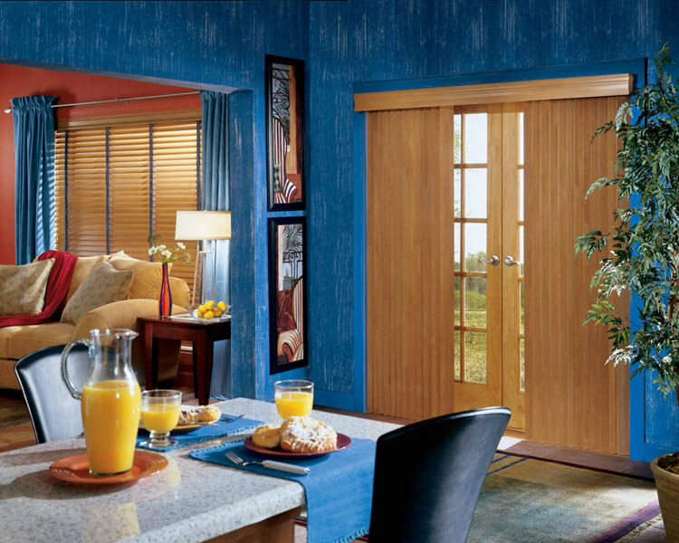 Matching Horizontal Blinds And Vertical Blinds Work Great