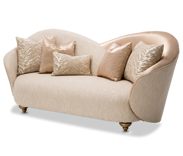 Camelia Sofa BrightGold Studio  Michael Amini Furniture Designs   amini com. Camelia Sofa BrightGold Studio  Michael Amini Furniture Designs