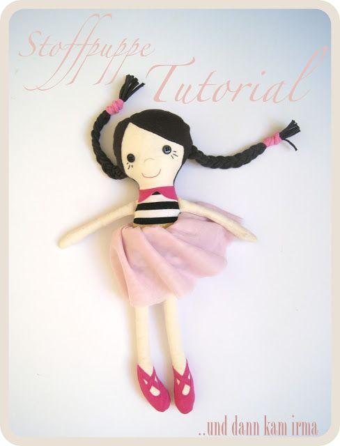 Stoffpuppe Tutorial Schnittmuster | Puppen | Pinterest | Nähen ...