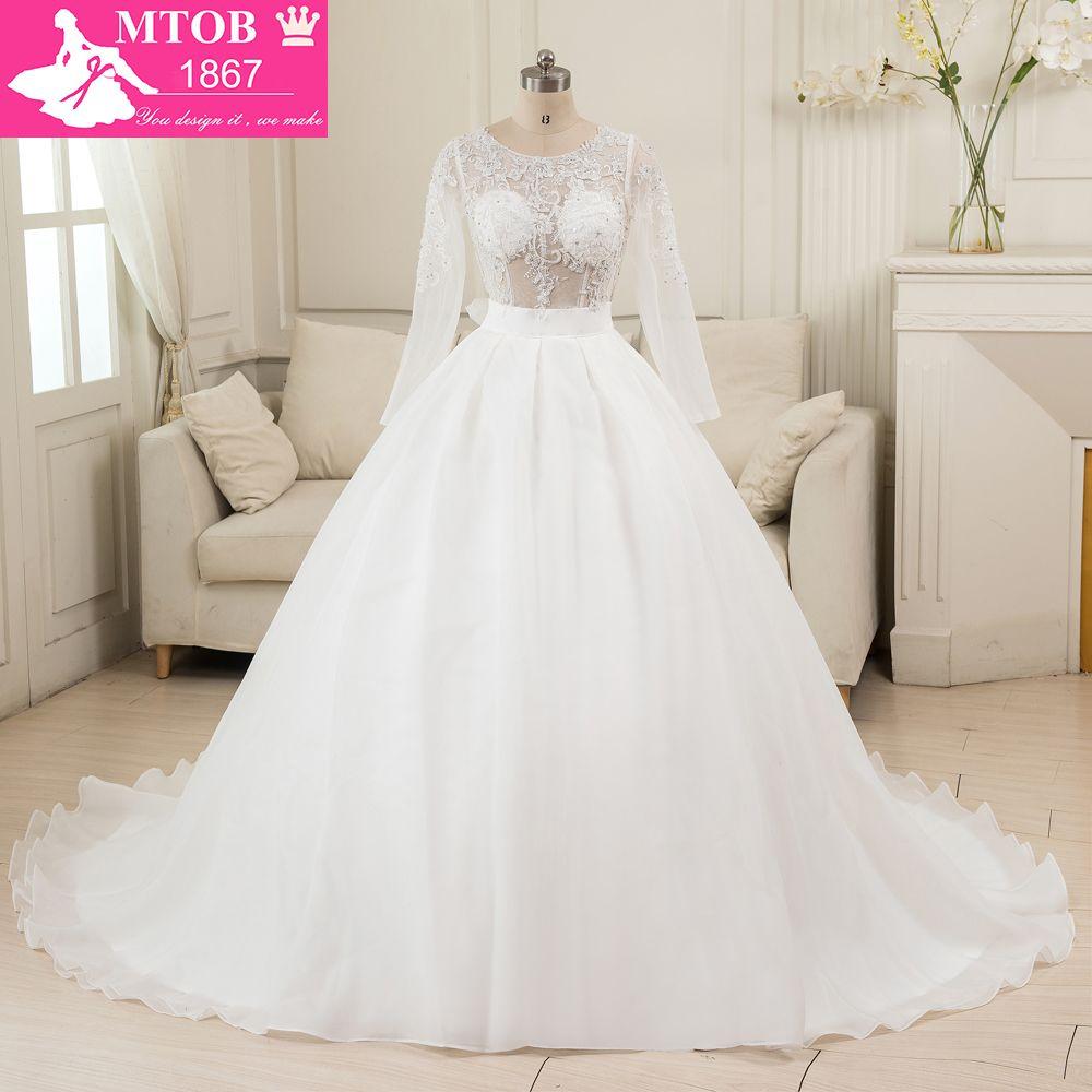Click to buy ucuc robe de maraige alibaba china ball gown wedding