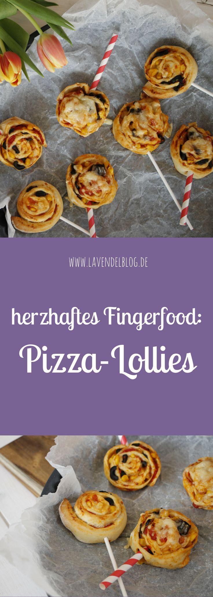 Rezeptidee Kindergeburtstag: Pizza-Lollies #dollies