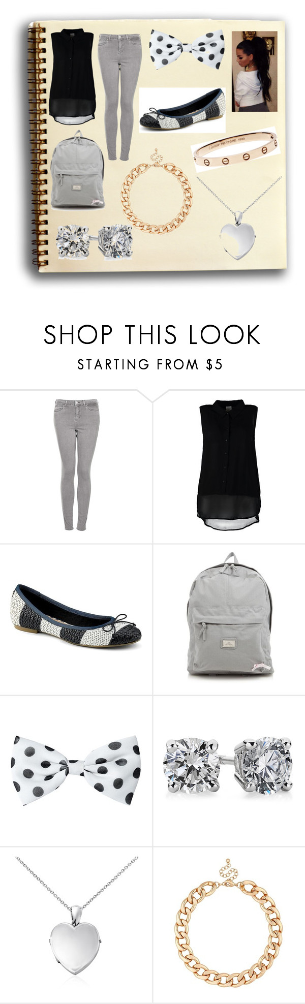 """""""#B004"""" by daniela-reyes-1988 ❤ liked on Polyvore featuring beauty, Topshop, Vero Moda, Sperry, Red Herring, Blue Nile and MOOD"""