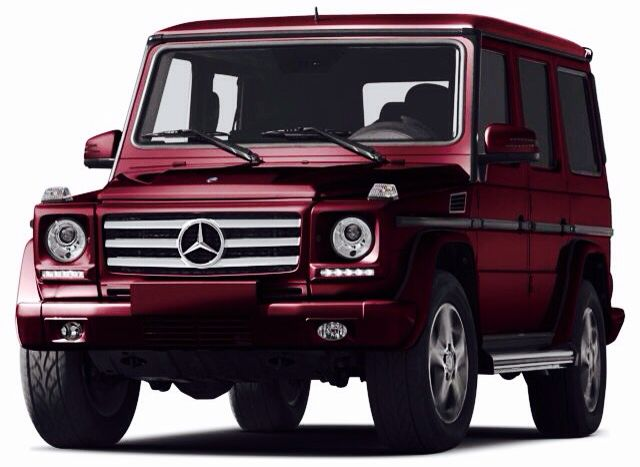 wine colored g wagon - Mercedes G Wagon 3rd Row Seat