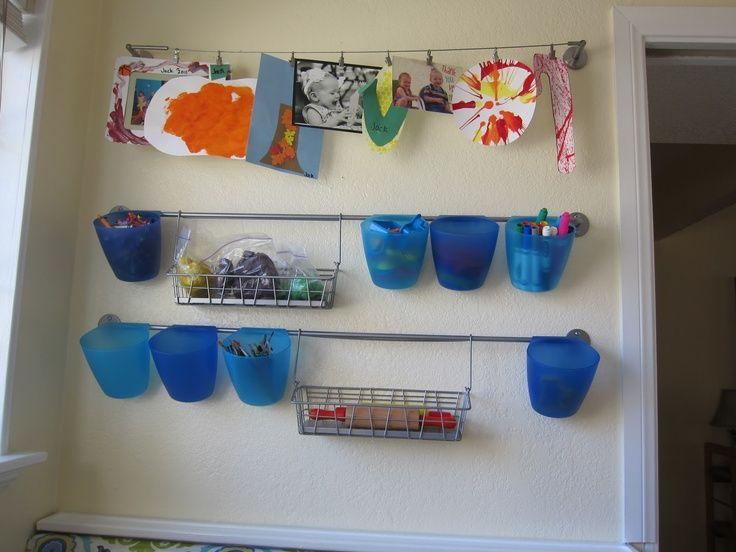 Art Supplies Lilyana Shelving Ideas Closet Organization