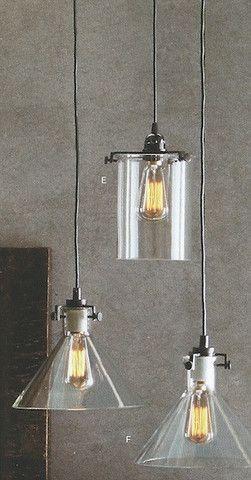 glass cylinder lamp crystal cylinder roost clear glass cylinder funnel lamps modish bestsellers lights hanging lights
