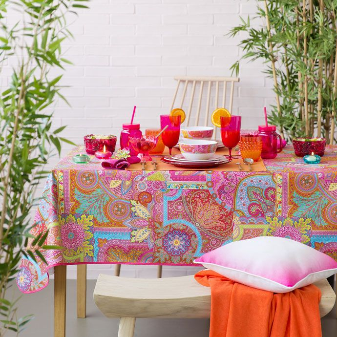 Awesome PATCHWORK LAMINATED TABLECLOTH   Tablecloths U0026 Napkins   Tableware | Zara  Home United States Of America