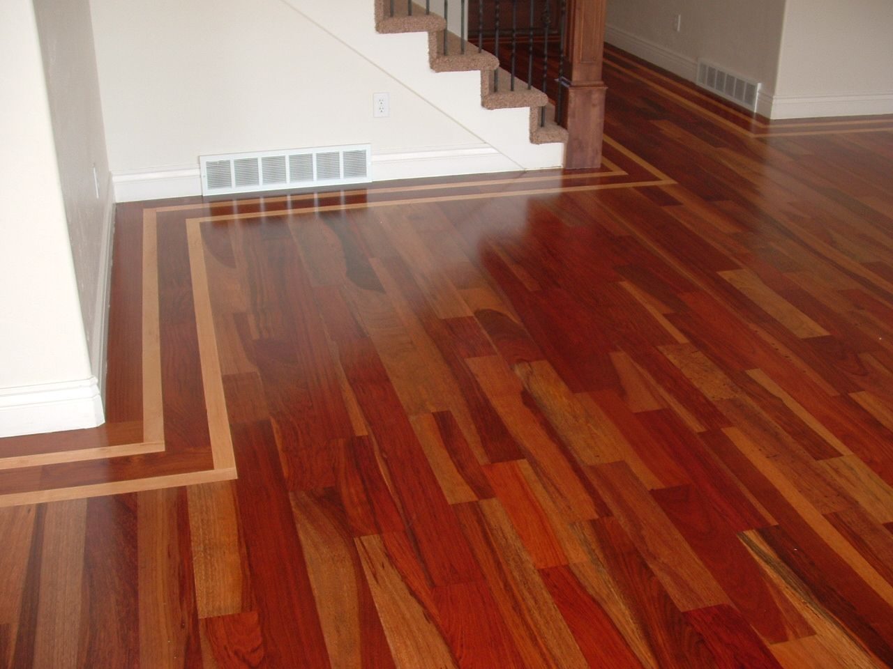 Brazilian cherry hardwood flooring flooring ideas home for Cherry hardwood flooring