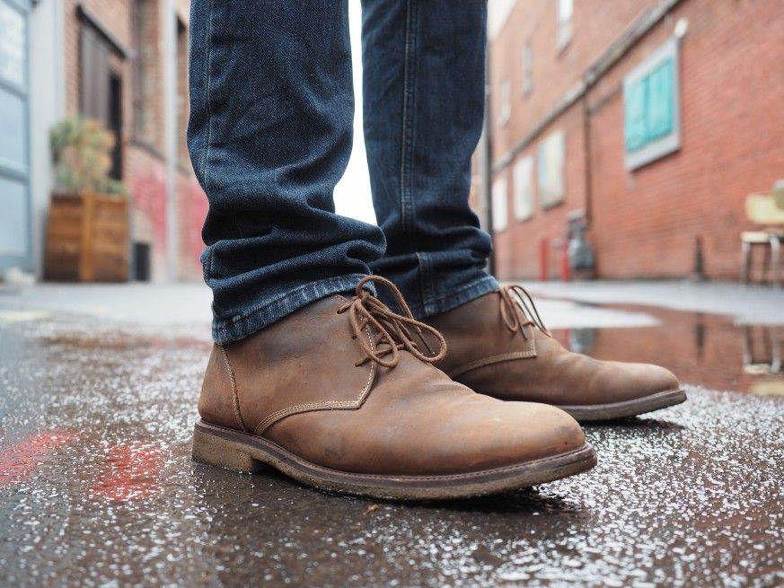 6057a886c99 Johnston & Murphy Copeland Chukka Review | Leather Love | Johnston ...