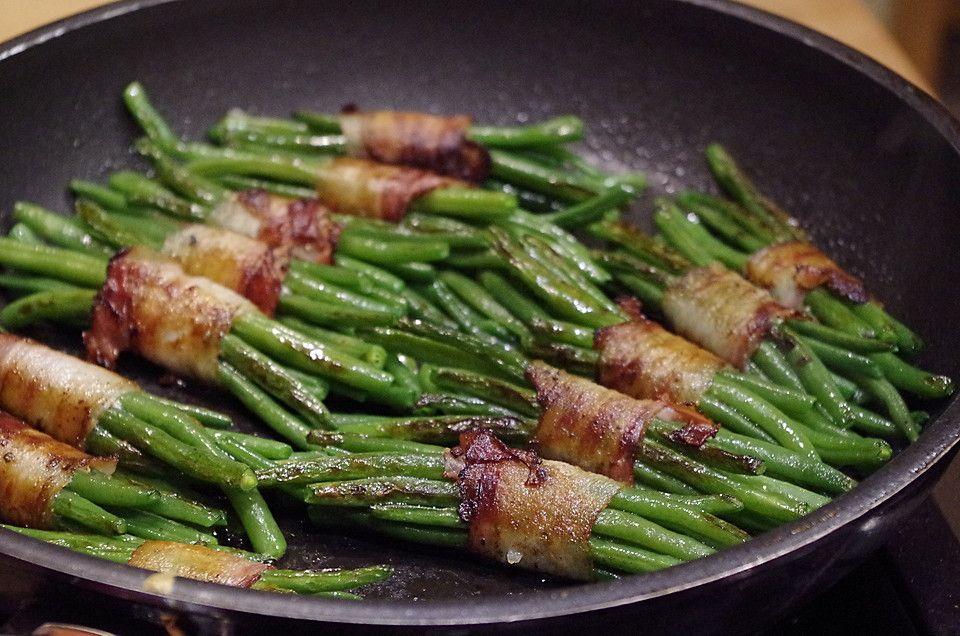Grüne Bohnen Im Speckmantel Gemüseessen