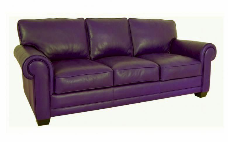 Purple Leather Sofas The 53 Best Leather Sofas Images On