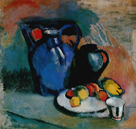 Image result for NATURE MORTE a la cruche blue (1900).