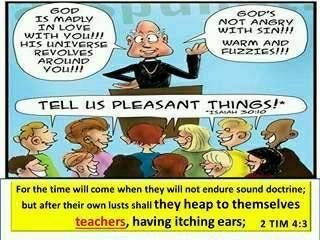 Image result for image itching ears Bible