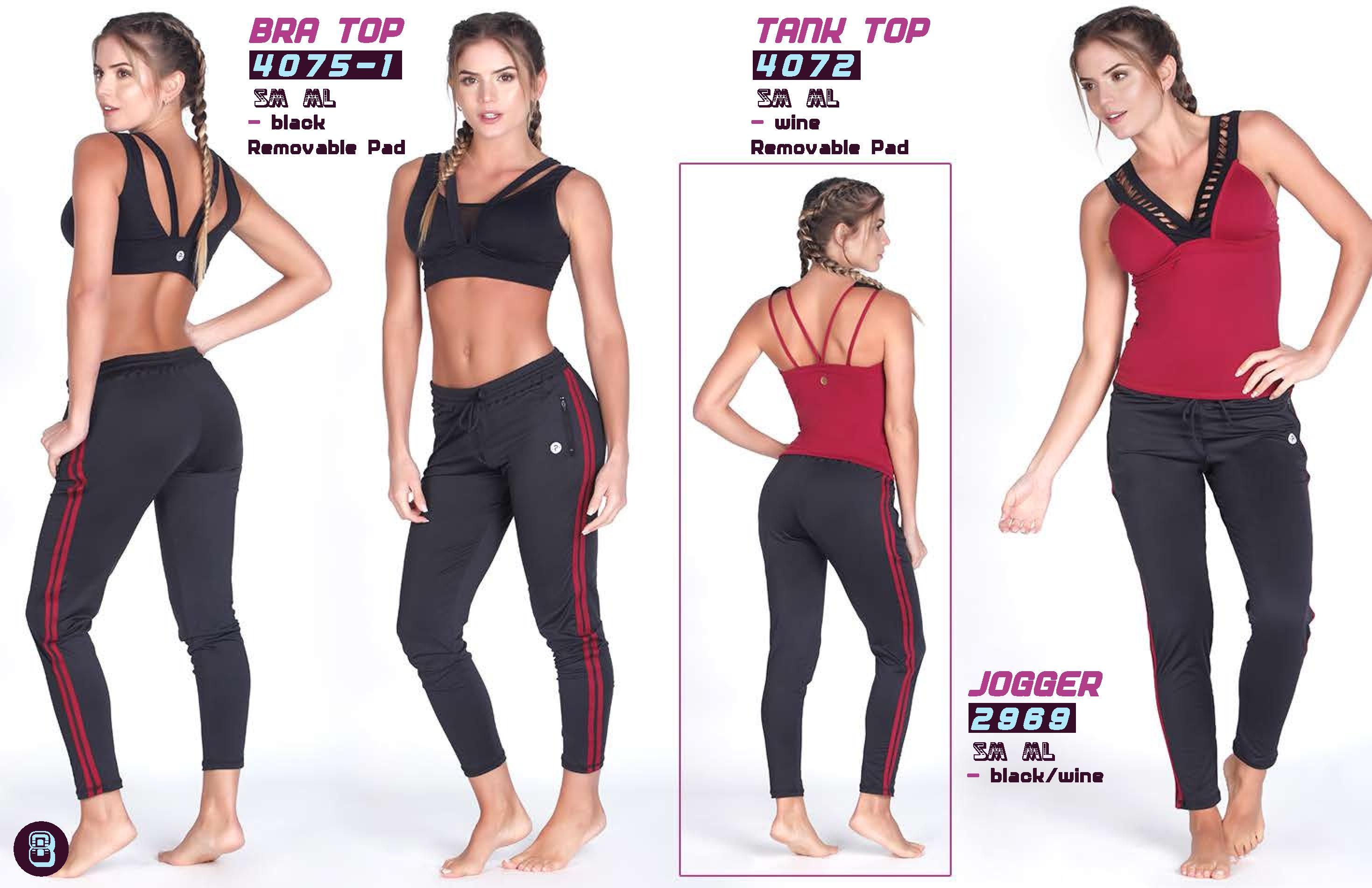 Wine Workout Tank Top Sportswear Online Shop UAE