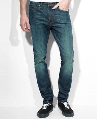 e5a5a2193ed9b Levi s 510 Skinny-Fit Midnight Wash Jeans - Levi s - Men - Macy s ...