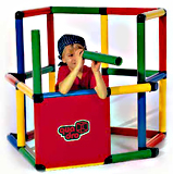 My First Quadro Playset Kit  Modular tubes in four colors