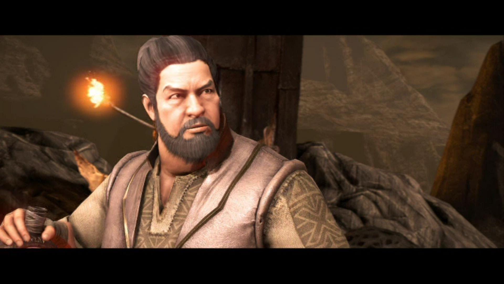 Mortal Kombat X Bo Rai Cho All Intro Dialogues Mkx Mortal