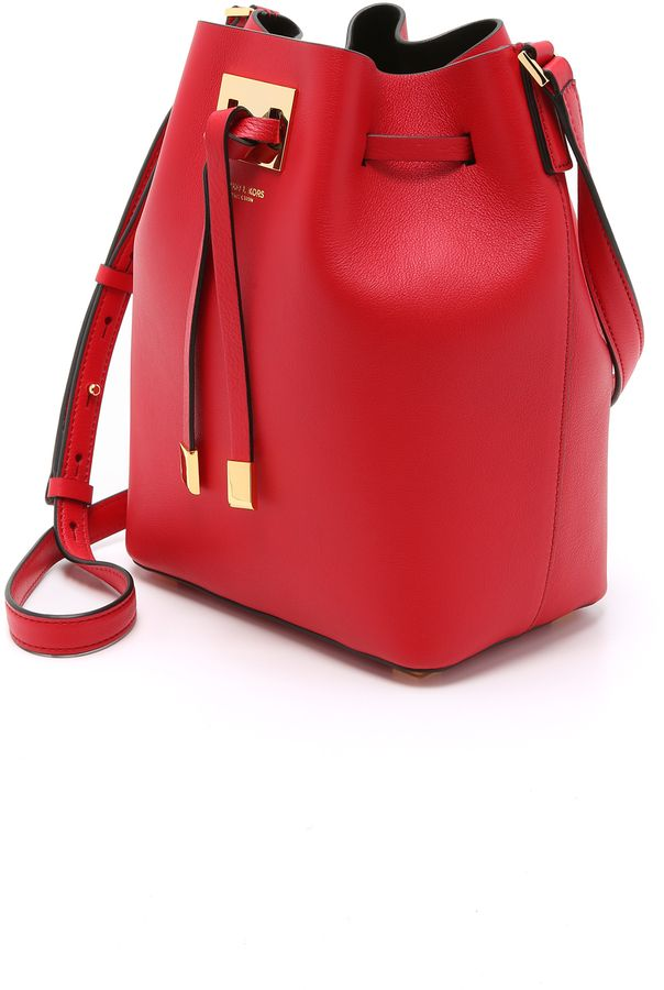 5454d729cddd Trending On ShopStyle - Michael Kors Collection Miranda Medium Drawstring  Bag