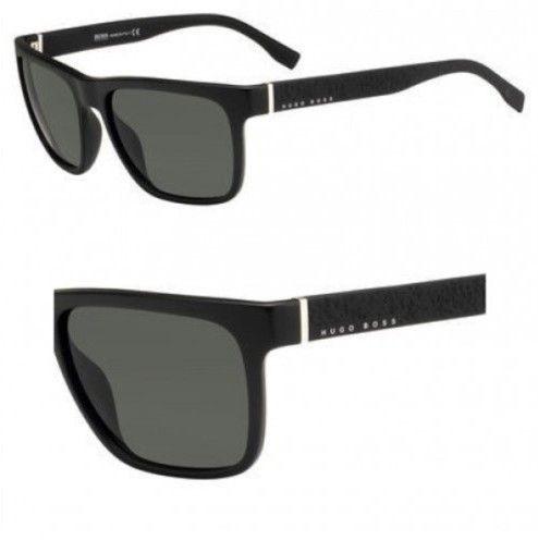 68451c7c8 HUGO BOSS Sunglasses Boss Black Boss 918/S 0DL5 Matte Black / IR gray blue  lens
