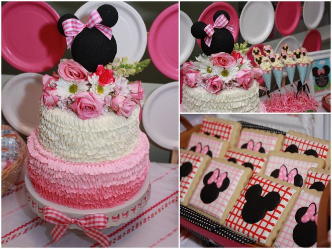 DARLING Minnie Mouse Birthday Party!