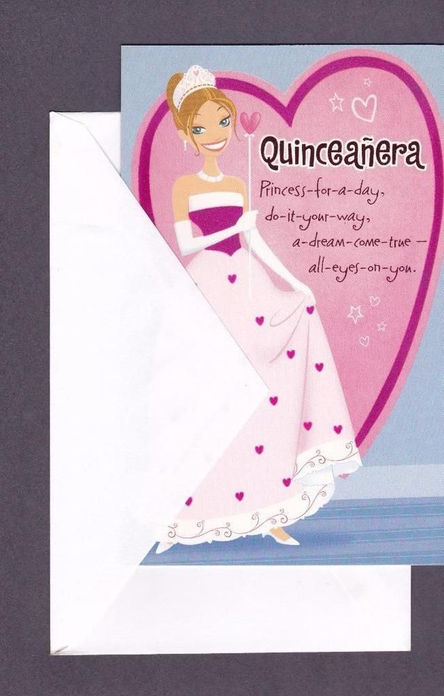 Spanish greeting card quinceanera all words in english spanish spanish greeting card quinceanera all words in english m4hsunfo