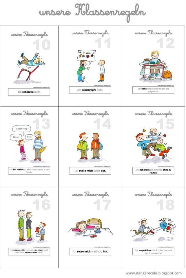 Brezel-Blog: Unsere Klassenregeln | schoul | Pinterest | Hus och ...