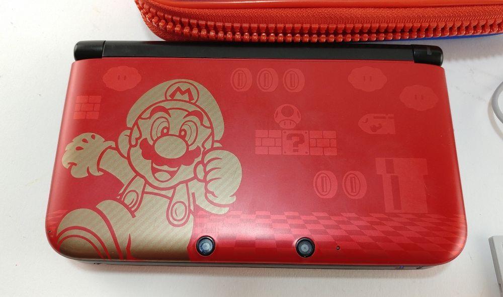 Nintendo 3ds Xl Limited Edition Super Mario Bros 2 Gold Edition